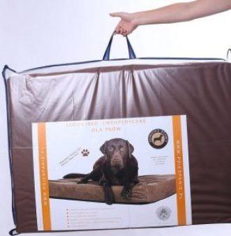 ortopedyczne legowisko dla psa