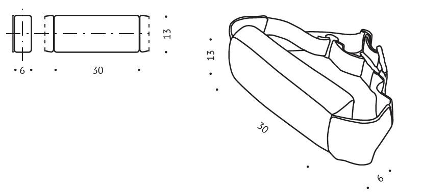 Poduszka ortopedyczna R20 pod plecy wymiary