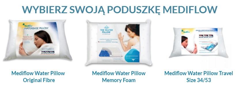 wybór poduszek wodnych medifow