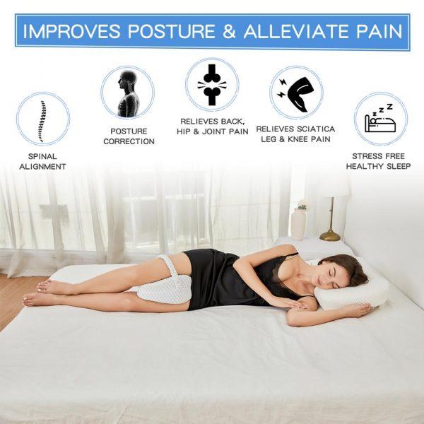 orthopedic knee pillow for side sleepers