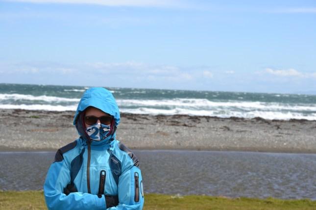 Ganz schön kalter Wind!