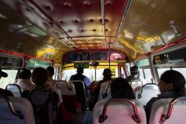 Micro-Bus in La Paz