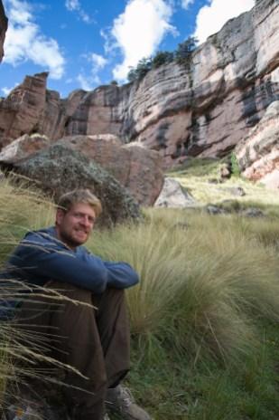 Andy im Tinajani Canyon