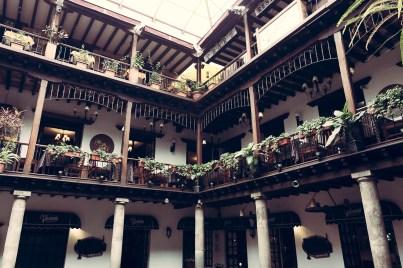 Innenhof - Quito