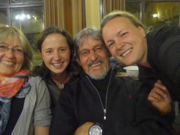 Rita, Frizzi, Rudi, Julia