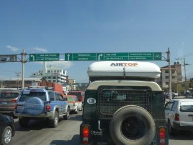 Verkehr in Cochabamba