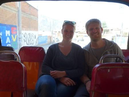 Wir im Micro-Bus