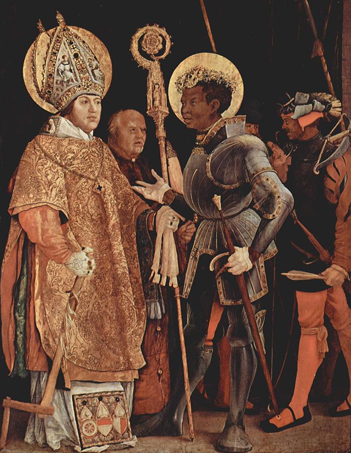 Sv Mauricijus - ulje Matijasa Grinvalda -XVI vek