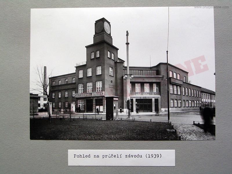 Upravna zgrada Zbrojovke u Brnu 1939