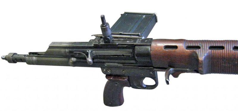 FG-42 Delimični izgled