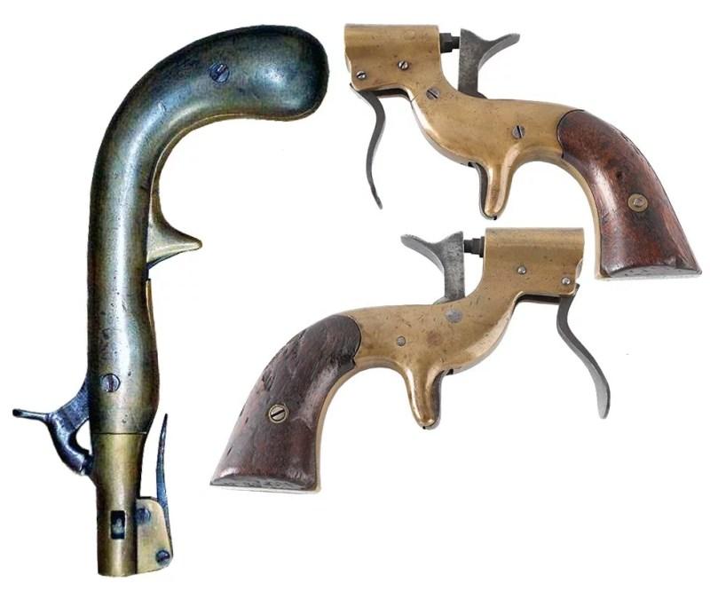 Američki signalni pištolji Kaston M1862.