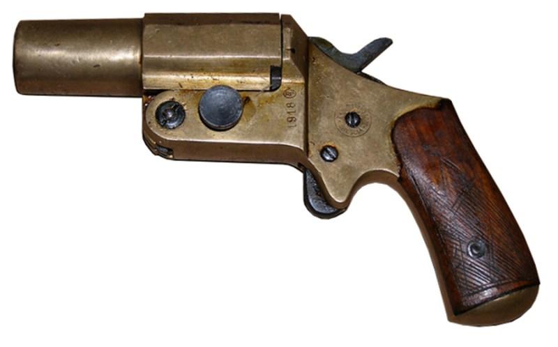 Italijanski signalni pištolj sistema Shober M1918