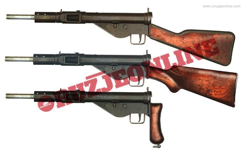 Partizanske modifikacije originalnih automata Sten Mk2
