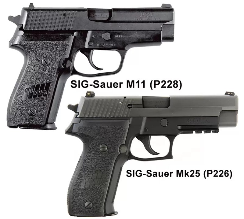 SIG Sauer M11-P228 i M25-P226 - izbor specijalaca umesto Berete