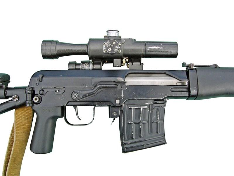 Detalj sanduka puske SVDS