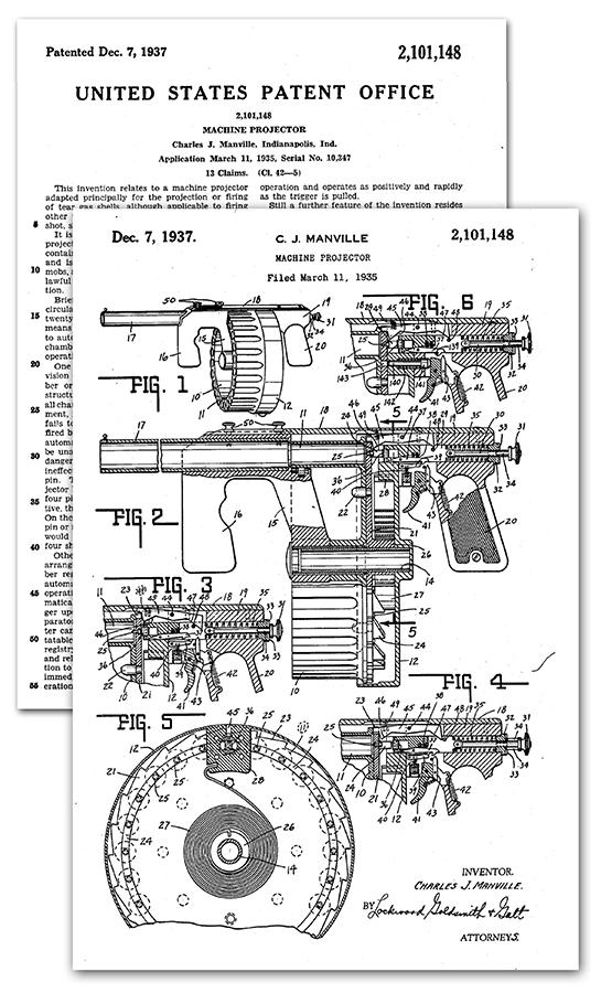 Patent za Menvilov visemetni bacac gasnih granata
