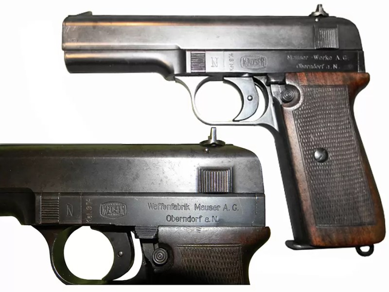 Pištolj 9mm Mauser-Nickl, proizvodnja Waffenfabrik Mauser A.G. /Oberndorf a.N