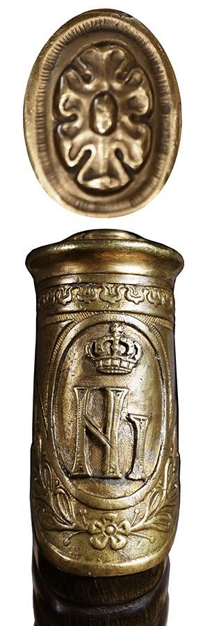 Monogram kralja Nikole I na kapi balčaka