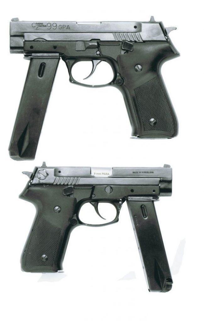Eksperimentalni automatski pištolј CZ-99 GPA