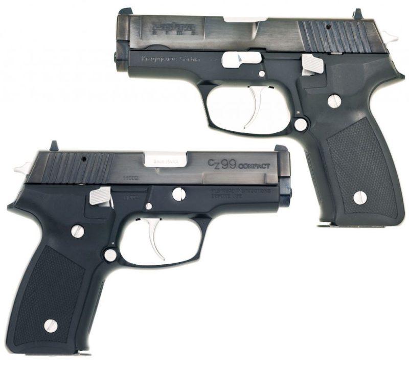 Pištolј 9 mm CZ-99 Compact