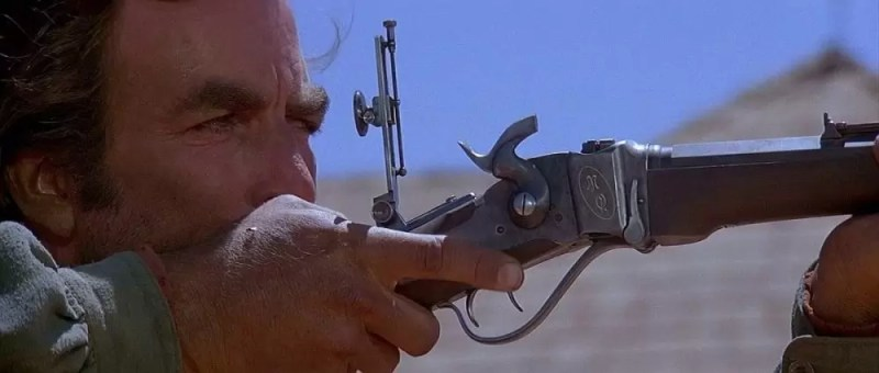 Tom Selleck u filmu Quigley Down Under iz 1990. godine.