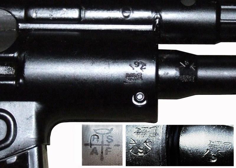 Sacuvane oznake na oruzju atentatora