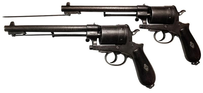 Gasser M1870 za preklopnim bajonetom – eksperimentalno oružje. Zbirka S. Glogovac