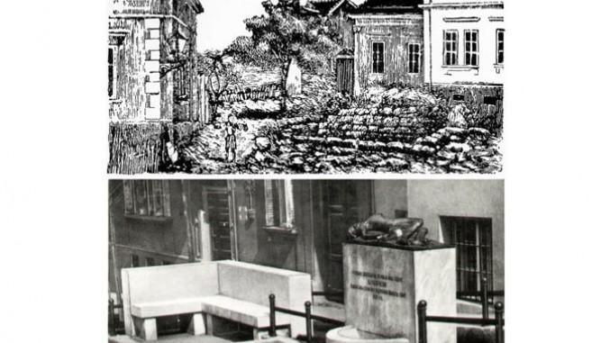 Čukur-česma 1862. i spomenik podignut 1931. godine