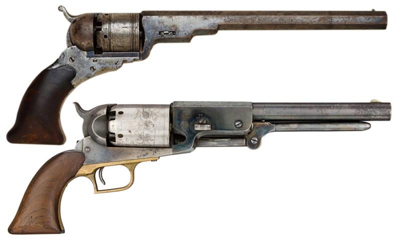 Revolveri Colt Paterson i Colt Walker