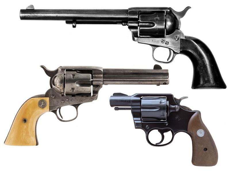 Revolveri Colt Peacemaker, Colt M1873 i Colt Lawman-Mk III