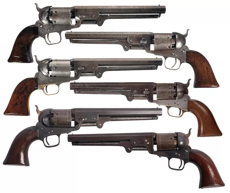 Varijante Colt Navy 1851
