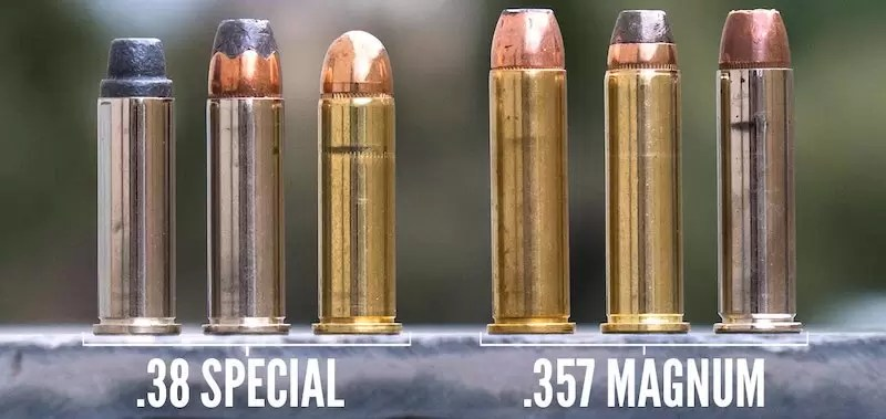 .38 Special and .357 Magnum