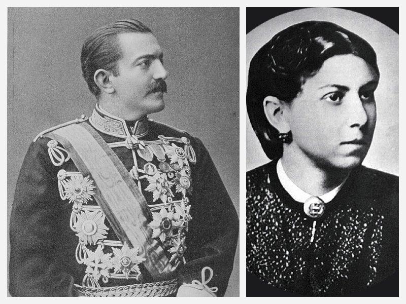 Kralj Milana Obrenovića i Jelena-Ilka Marković