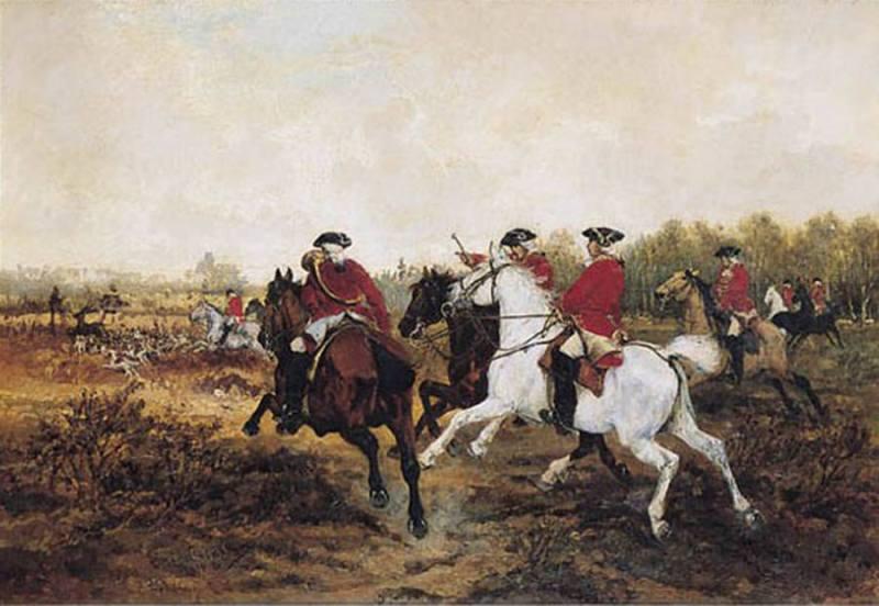 Parforce lov u XVIII veku