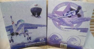 """Monografija """"82. avijacijska brigada"""""""