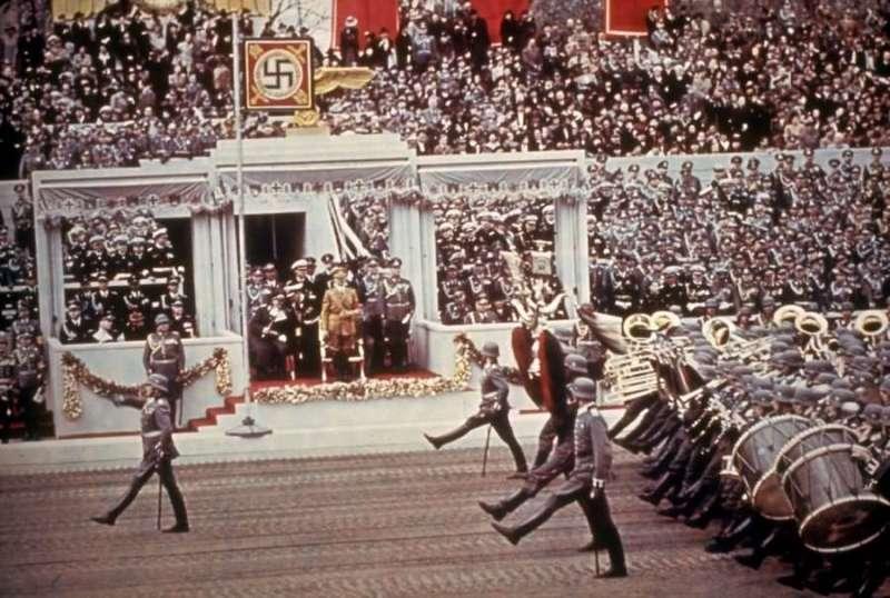 Proslava 50-og Hitlerovog rođendana u Berlinu, 20. april 1939.
