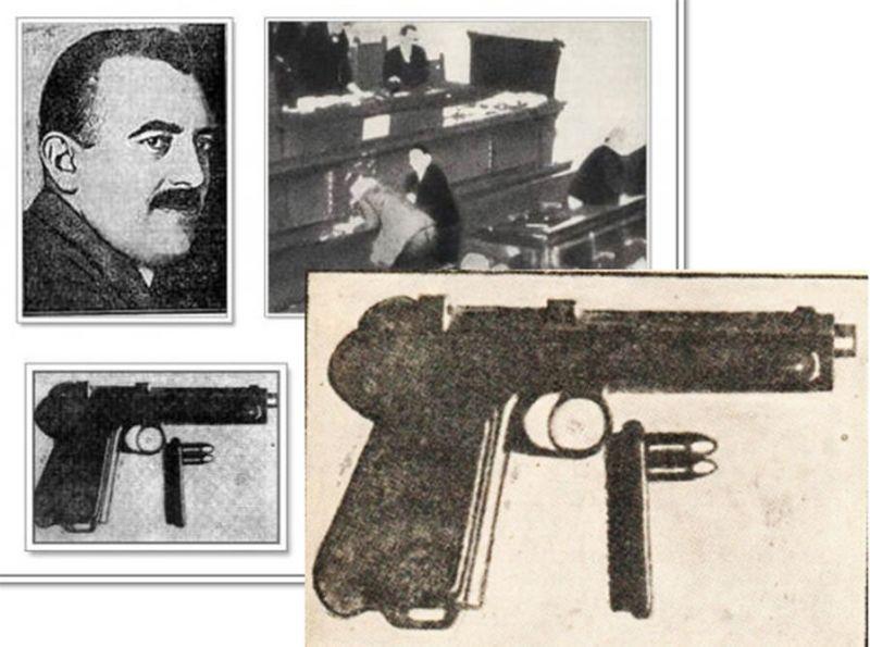 Punisa Racic - pucnjava u Skupstini i Racicev Steyr