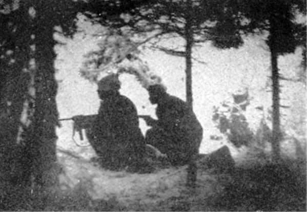 Drugi bataljon tokom borbi kod izbočine