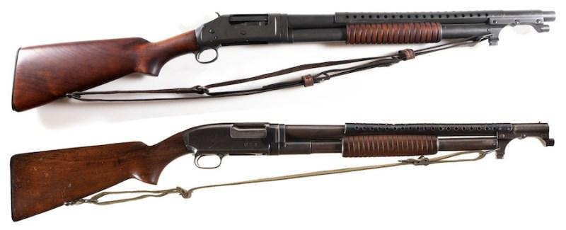 Vojne pumparice M1897 i M12 Winchester