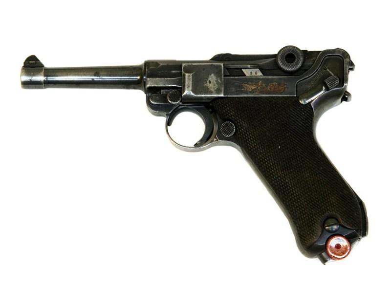 9 mm Luger P-08