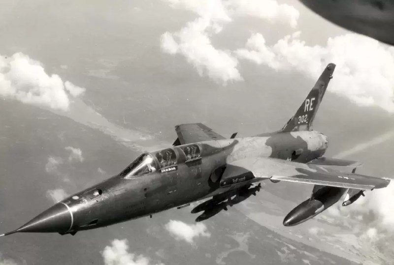 F-105Fiz sastava44. TFS,355. TFWu letu iznad Vijetnama avgusta 1970. godine