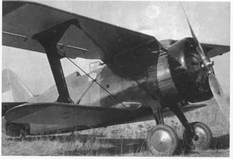 Polikarpov I-15 Chato