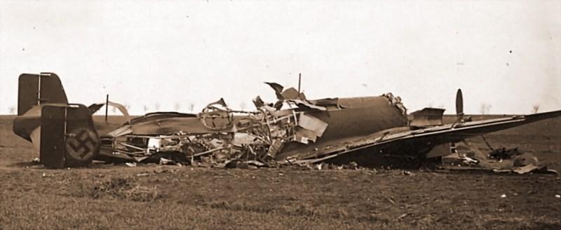 JU 86 kod Rovna 15. aprila 1941