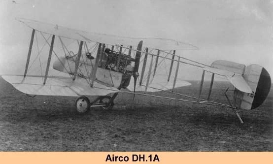 DE HAVILLAND AIRCO DH1