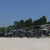 Prikaz naoružanja i vojne opreme na Ušću