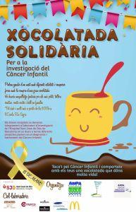 Xocolatada Solidària – Per la Investigació del Càncer Infantil 🗓 🗺