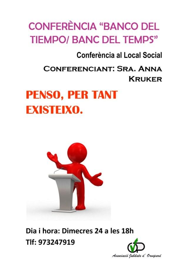 Conferència Banc del Temps