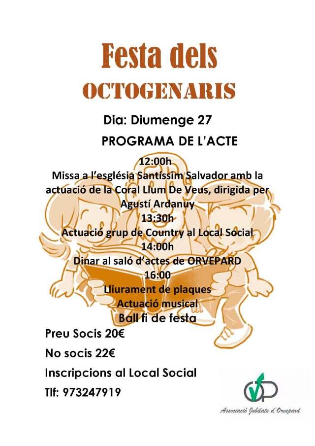 Festa dels Octogeraris