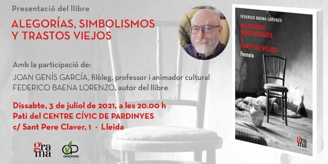 Presentació del llibre Alegorías, Simbolismos y Trastos Viejos, de Federico Baena