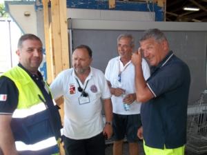 I Volontari della Protezione civile di Orvieto alle prese anche con il Ramadan